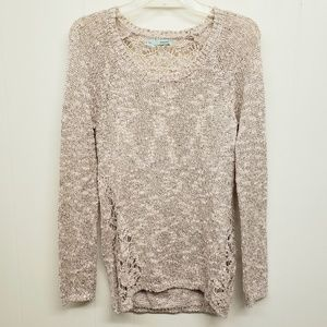 Like New! Champagne Pink Knit Sweater